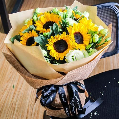 12支向日葵花束