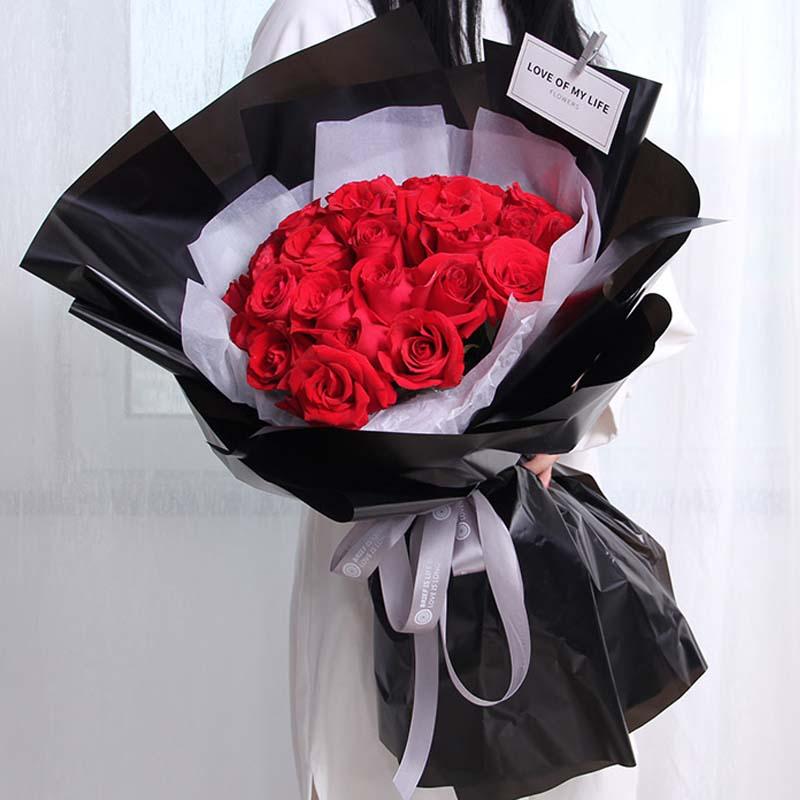 12支长款红玫瑰