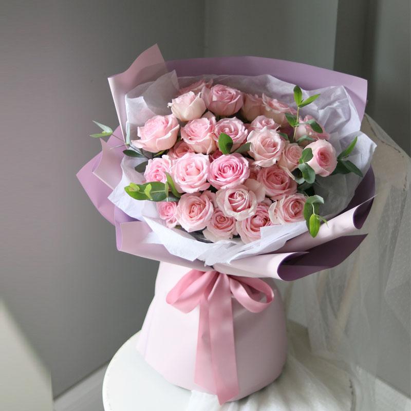 36支粉玫瑰